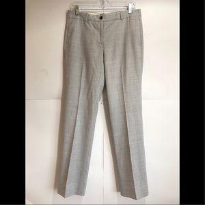 J. Crew Light Gray Super 120's 100% Wool Pants 6
